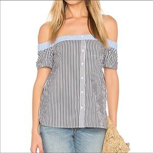 Bailey 44 off the shoulder top size 2